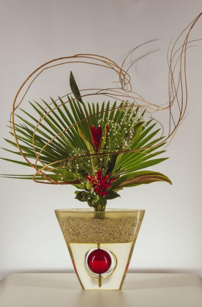 arranjo ikebana na japan house