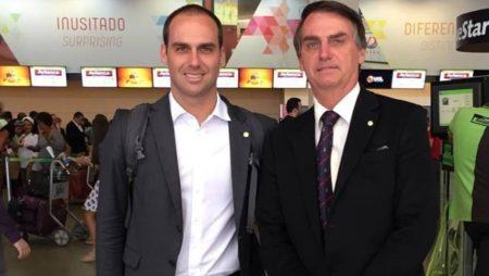 Eduardo e Jair Bolsonaro