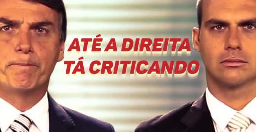 Presidente quer indicar seu filho, Eduardo Bolsonaro, para o cargo de embaixador do Brasil nos EUA