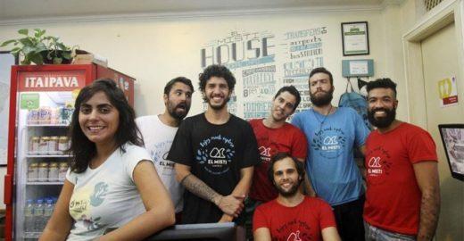 Rede de hostels no Rio doa alimentos a cada reserva efetuada