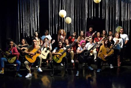 foto da turma 7 Coro de Repertório Fundação das Artes Mediotec
