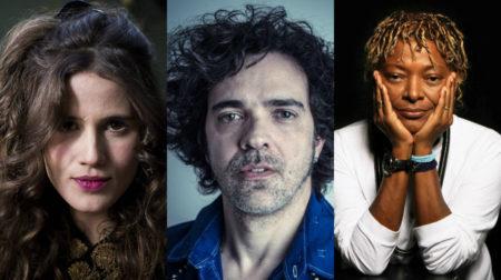 Fotomontagem com Ana Cañas, Paulinho Moska e Mart'nália