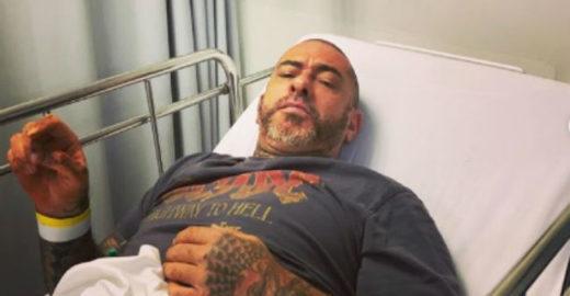 Henrique Fogaça sofre múltiplas fraturas e vai parar no hospital