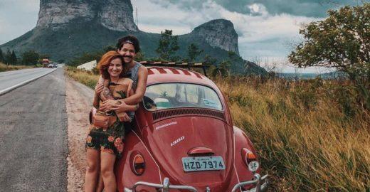 Casal sergipano viaja de fusca pela América do Sul