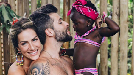 Bruno Gagliasso e Giovanna Ewbank adotam segunda criança do Malawi 1