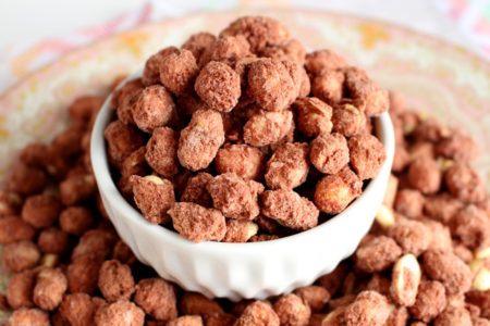 Amendoim Praliné com Chocolate