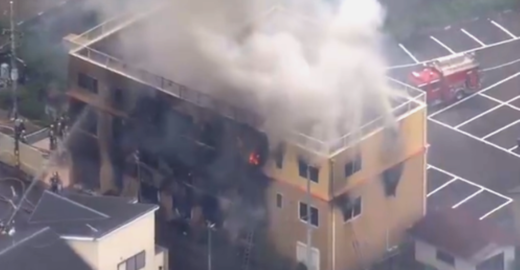 Incêndio em estúdio de animação em Kyoto deixa dezenas de mortos