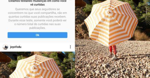 Instagram oculta número de curtidas e causa na web