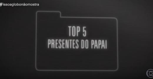 Humorístico do Fantástico debocha de 'presente' de Bolsonaro a filho