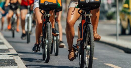 Veja os benefícios de usar bikes compartilhadas