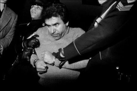 A prisão do feroz chefe mafioso Leoluca Bagarella, Palermo, 1979