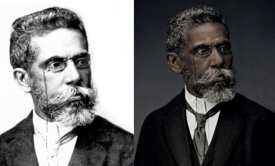 Atenção, livros de história e literatura: Machado de Assis foi negro