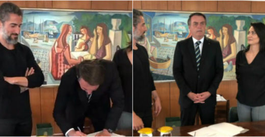 Marcos Mion convence Bolsonaro e comemora lei sobre autismo