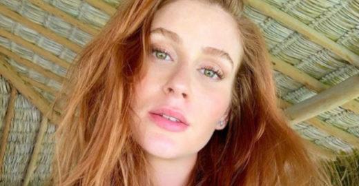 Marina Ruy Barbosa é surpreendida por hacker que invadiu seu Instagram