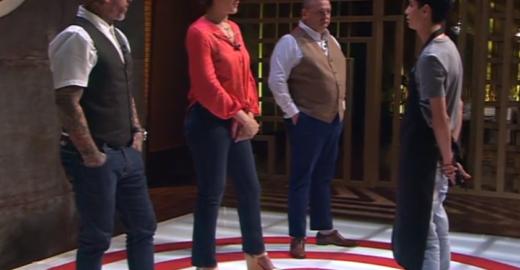 Masterchef: Helton é eliminado com lição de vida de Paola Carosella