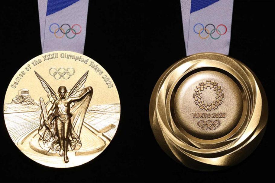 medalha de ouro das Olimpíadas em Tóquio