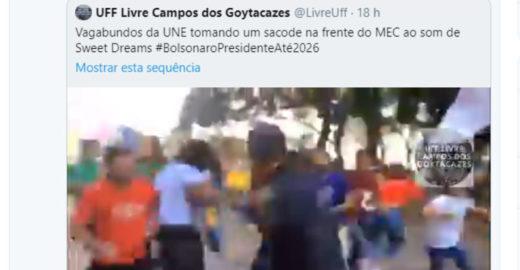Ministro da Educação faz chacota de estudantes agredidos por policiais