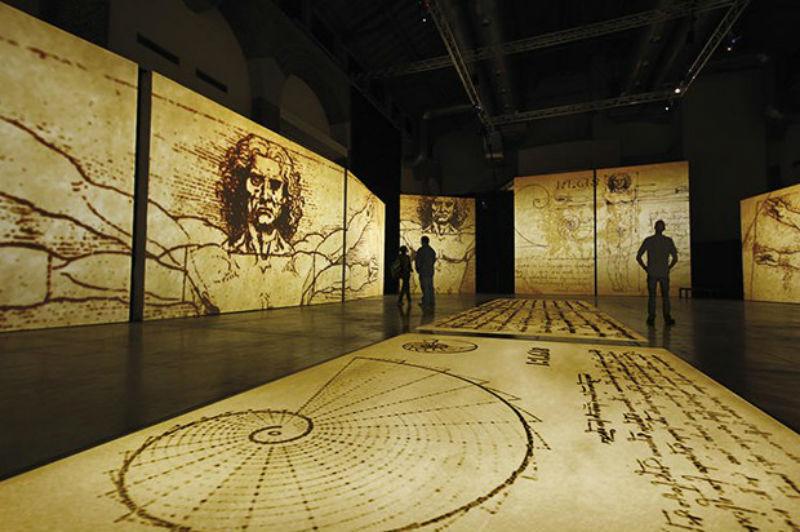 """Exposição """"Leonardo da Vinci – 500 anos"""" chega ao MIS Imersão em outubro de 2019"""