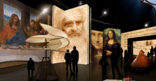 Exposição de Leonardo Da Vinci marca nova fase do MIS-SP
