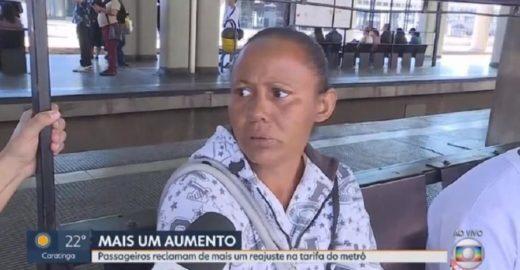 Mulher critica governo Bolsonaro na Globo e viraliza na web