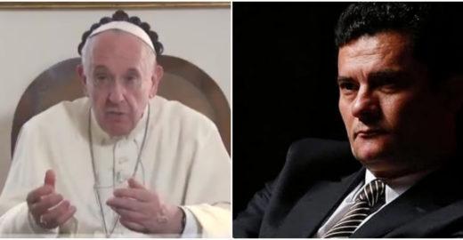 Novo vídeo do Papa Francisco seria uma indireta a Sergio Moro?
