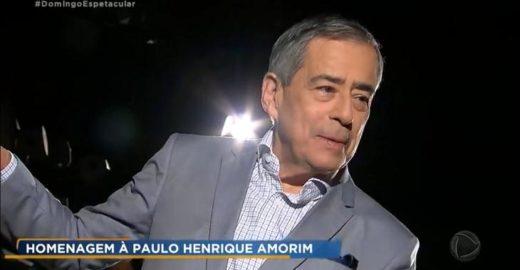 Record é criticada por homenagem a Paulo Henrique Amorim