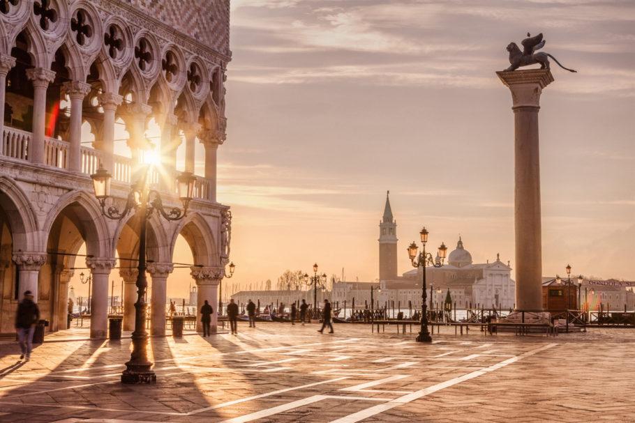6 - Praça de São Marcos, em Veneza, Itália