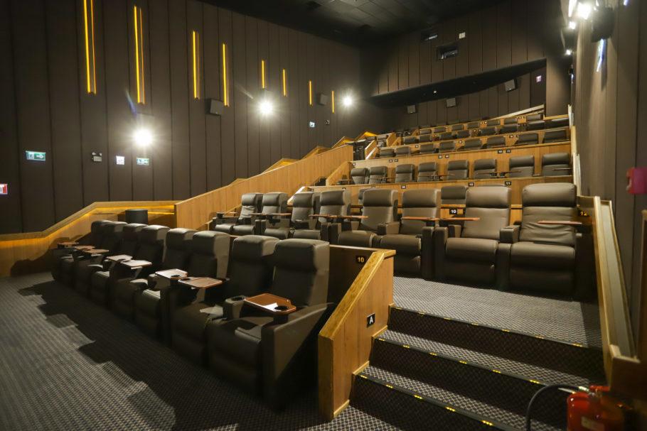 Sala de cinema Kinoplex no Parque da Cidade