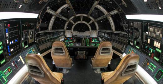 Pilote a Millennium Falcon da Disney, na área mais esperada da galáxia