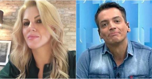 Val Marchiori faz insinuação debochada sobre doença de Leo Dias