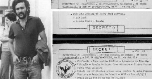 Documento comprova que Bolsonaro mentiu sobre morte de Santa Cruz