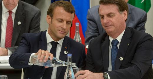 Macron acusa Bolsonaro de mentir e acordo com UE corre risco
