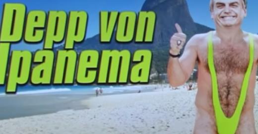 TV alemã ridiculariza Jair Bolsonaro: 'o boçal de Ipanema'