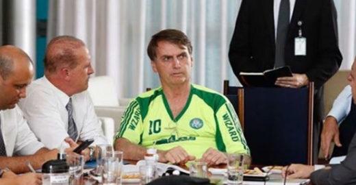 Palmeiras, time de Bolsonaro, faz campanha em defesa da Amazônia