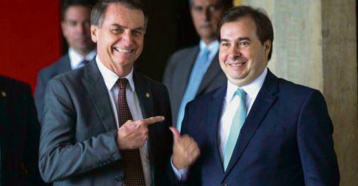 Rodrigo Maia diz que  'Bolsonaro é produto de nossos erros'