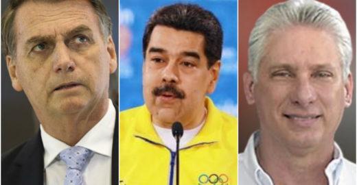 Venezuela, Cuba e Brasil tem os piores presidentes da América Latina