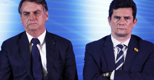Globo: amigos pressionam Moro a abandonar rapidamente Jair Bolsonaro