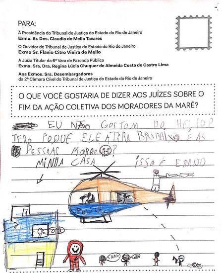 carta de morador da Maré