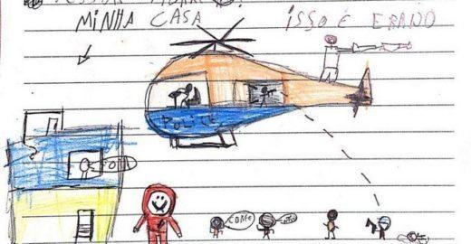 Em cartas, crianças pedem à Justiça do Rio fim da violência na Maré
