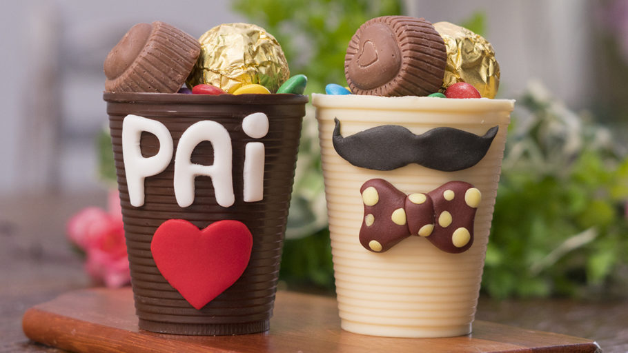 Copinho de Chocolate: faça para o Dia dos Pais!