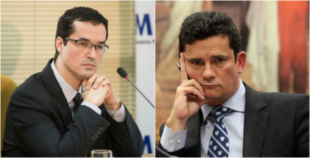 Deltan Dallagnol e sergio moro