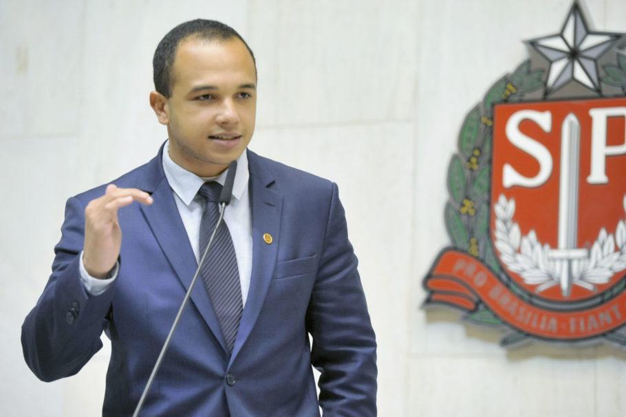 O deputado Douglas Garcia (PSL)