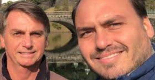 Dimenstein: ódio de Carluxo contra Globo faz Bolsonaro passar vexame