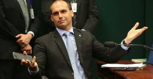 Ministério Público vai a Justiça barrar indicação de Eduardo Bolsonaro