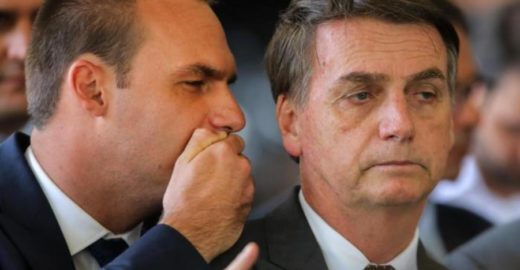 Pesquisa mostra que eleitores de Bolsonaro rejeitam Eduardo nos EUA