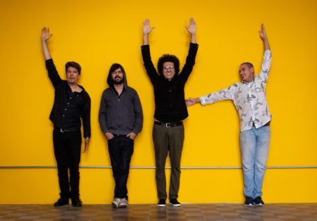 hamilton de holanda quarteto em foto promocional de divulgação do festival de jazz