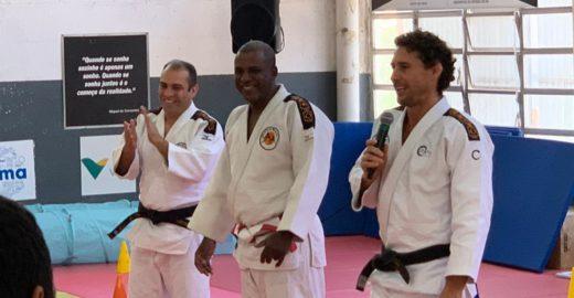 Judoca Flavio Canto lança projeto focado na integração de classes