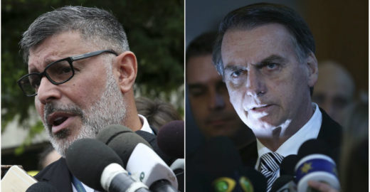 Jornal carioca viraliza ao ironizar 'troca-troca' de Frota e Bolsonaro