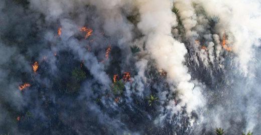 Fumaça de queimadas ameaça a saúde pública, alertam médicos