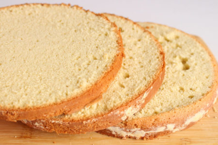 Bolo pão de ló tradicional
